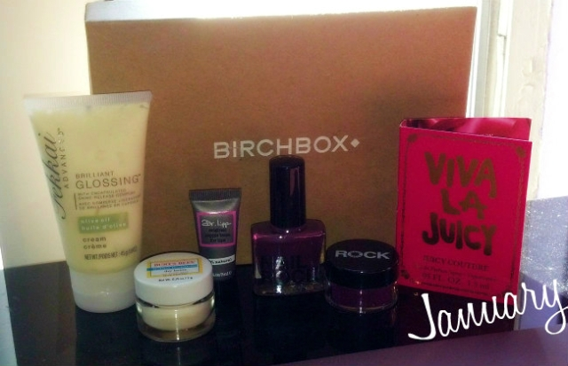 birchbox january ATG