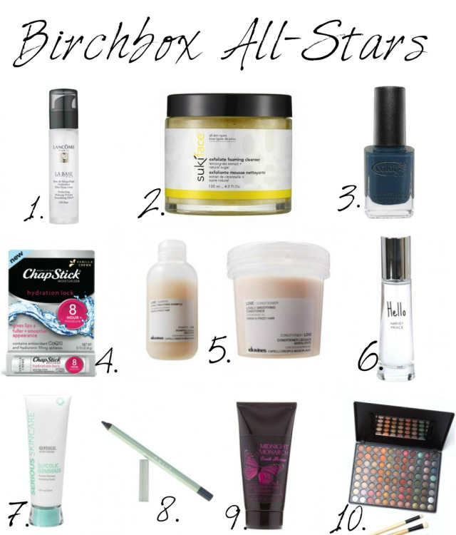 Birchbox All-Stars Final