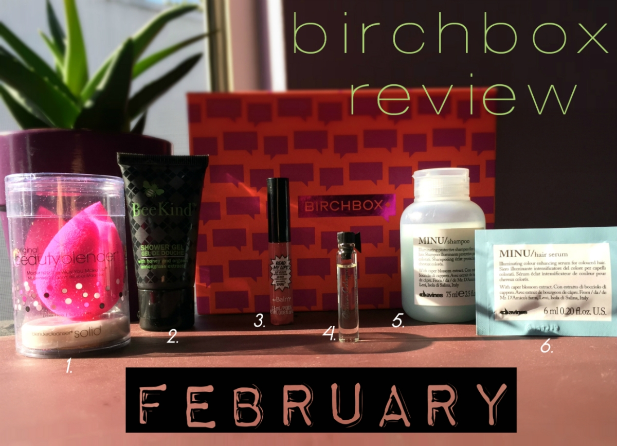 Birchbox Review | February 2015